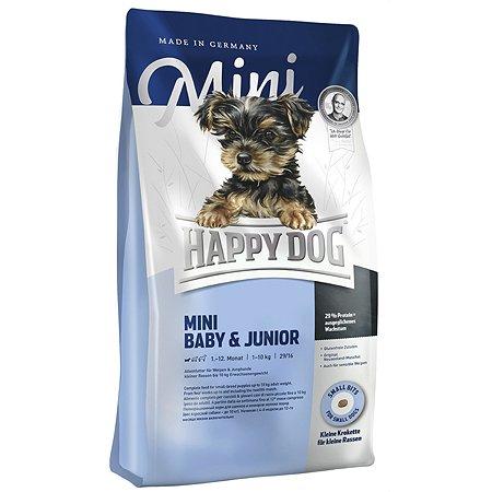 Корм для щенков Happy Dog Supreme Mini 1кг