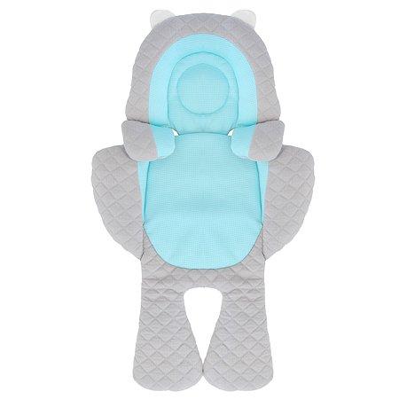 Подушка детская BENBAT Голубой-Серый BS286