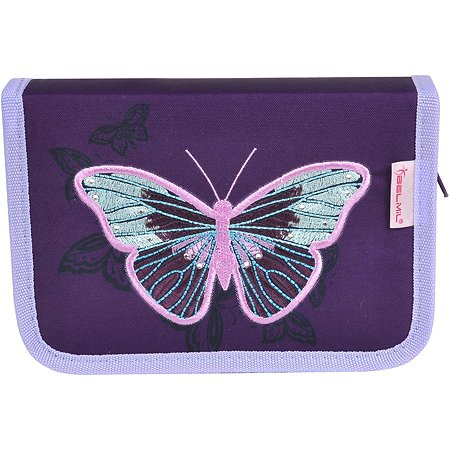Пенал BELMIL Special Butterfly без наполнения 2 клапана 335-72/18SP13