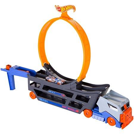 Набор игровой Hot Wheels Stunt and Go Грузовик-пусковая установка GCK38