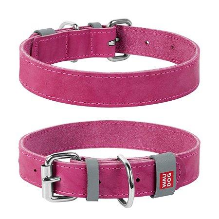 Ошейник для собак Waudog Classic малый Розовый
