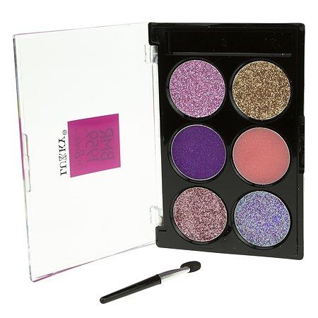 Крем-тени для век Lukky(LUCKY) с блестками 6цветов Т20065