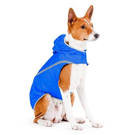 Накидка для собак CoLLar пудель такса скотч с капюшоном Синяя 21212