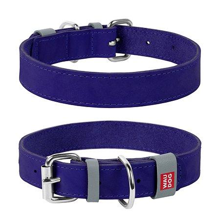 Ошейник для собак Waudog Classic малый Фиолетовый
