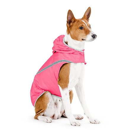 Накидка для собак CoLLar коккер-спаниель с капюшоном Розовая 2137