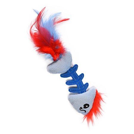 Игрушка для кошек Petstages Рыбка Голубая 90022