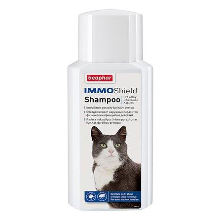 Шампунь для кошек Beaphar Immo Shield от паразитов на демитиконе 200мл