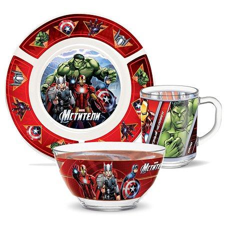 Набор посуды PRIORITY Мстители 3предмета КРС-938