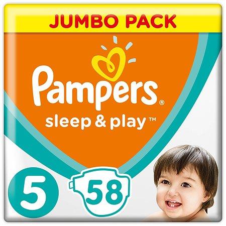 Подгузники Pampers Sleep and Play 5 11-16кг58шт