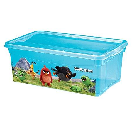 Ящик для игрушек Пластишка Angry Birds 5 л в ассортименте
