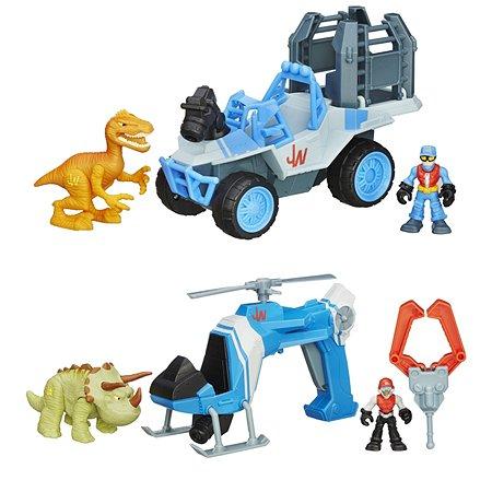 Набор Playskool динозавр и транспортное средство в ассортименте