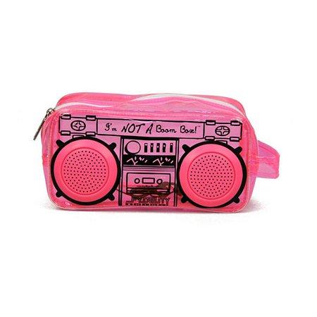 Пенал-косметичка Fydelity ретро-магнитофон (красная)