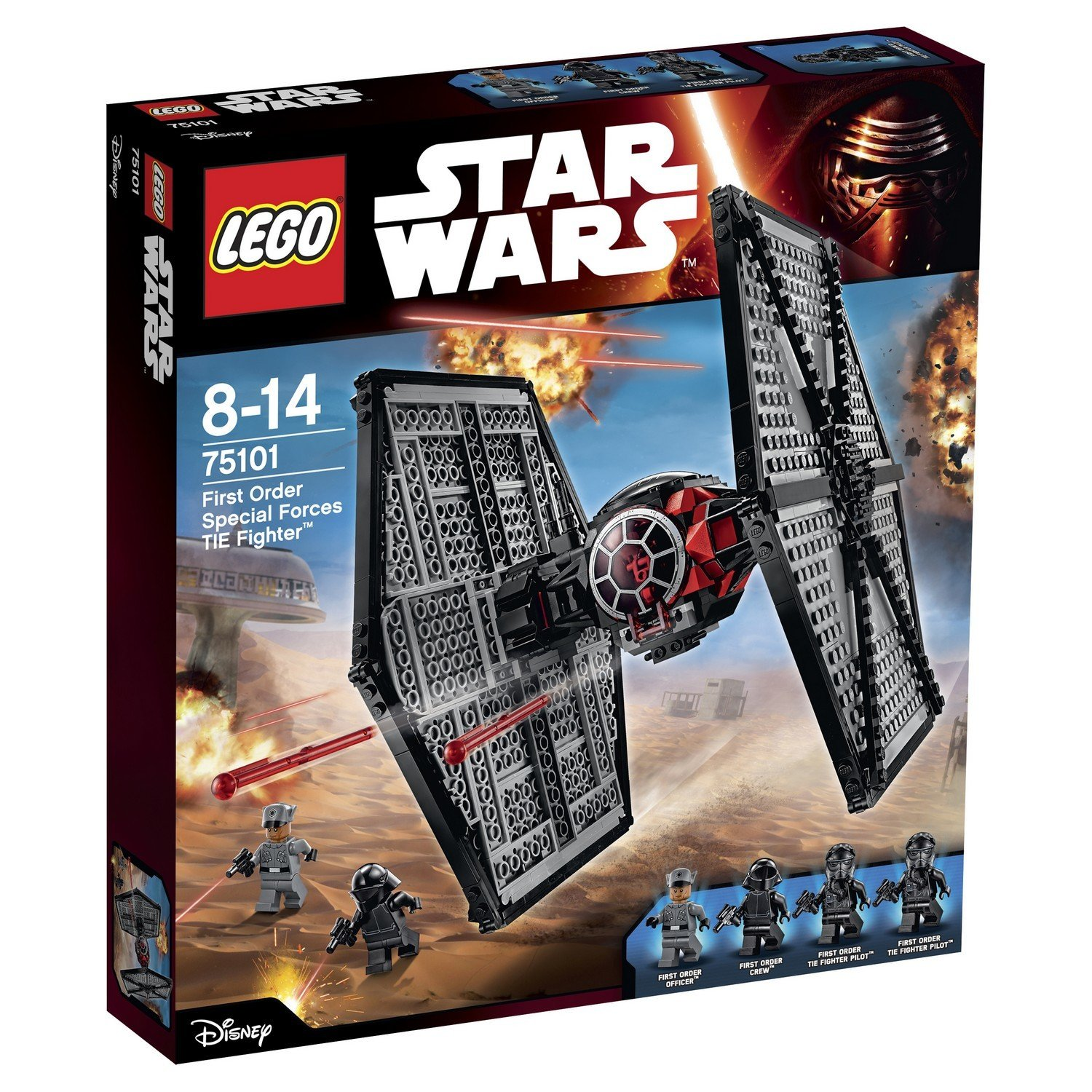 Star Wars Lego 75101 First Order Special Forces Tie Fighter