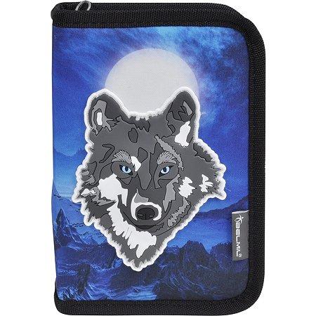 Пенал BELMIL Special Wolf без наполнения 2 клапана 335-72/18SP10