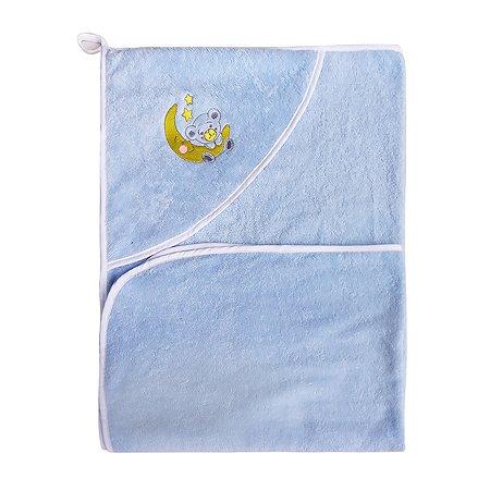 Уголок Cleanelly махровый Голубой