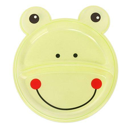 Тарелка Baby Go Лягушка с секциями BD-14020