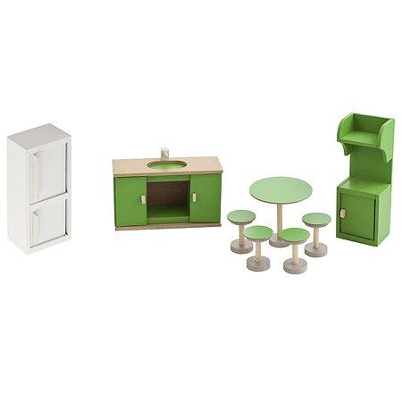 Набор мебели для домика PAREMO Кухня 8предметов PDA417-03