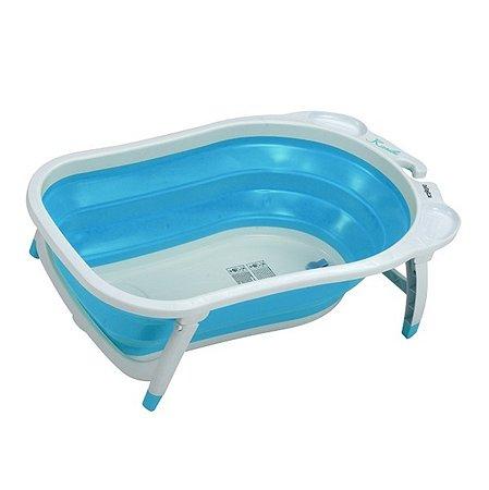 Ванна складная Babyton голубая