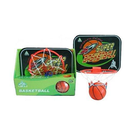 Игровой набор Newsun Toys Баскетбол, баскетбольная доска, сетка 15, мяч