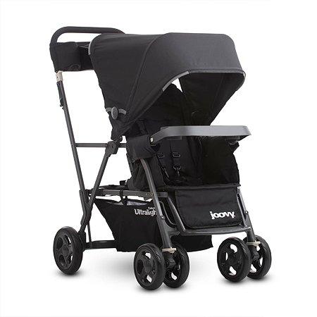 Прогулочная коляска JOOVY Caboose Graphite Ultralight Черная