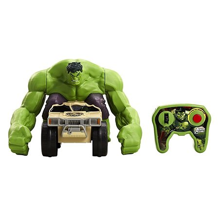 Машинка р/у XPV с игрушкой Халк