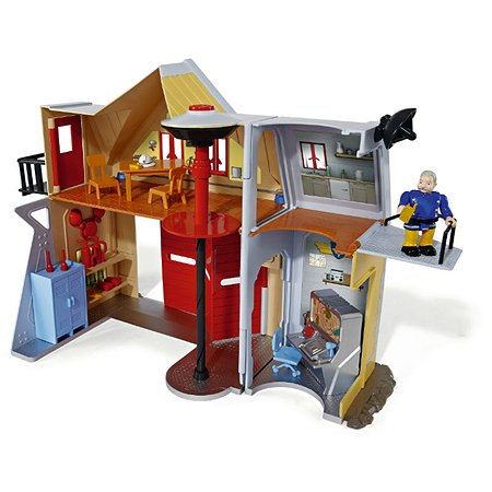 Фигурка с домиком-станцией Fireman Sam Пожарный Сэм