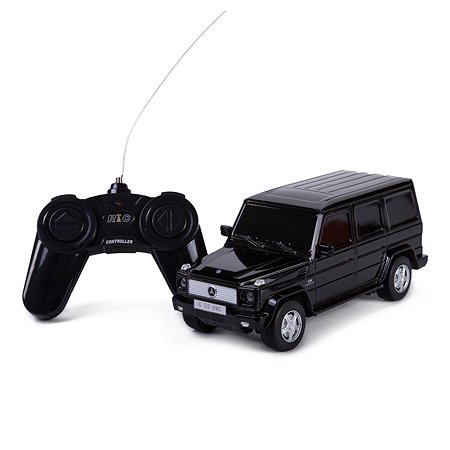 Машинка на радиоуправлении Rastar Mercedes-Benz G55 1:24 Чёрная