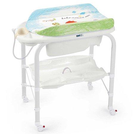Пеленальный столик CAM с ванной Cambio цв. 222