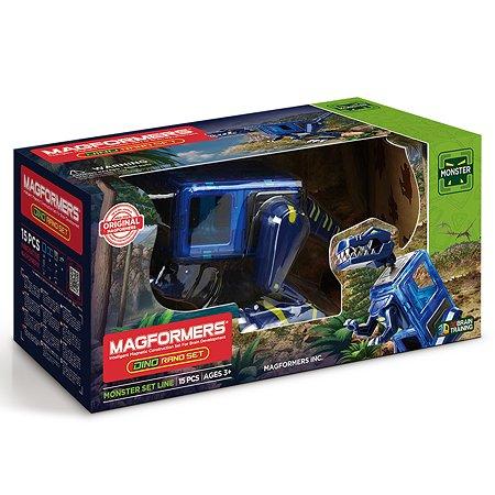 Магнитный конструктор Magformers Dino Rano Set