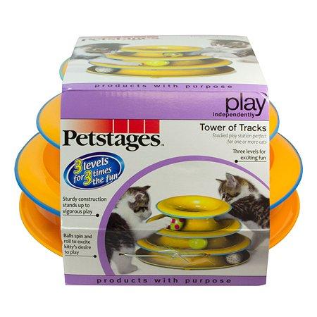 Игрушка для кошек Petstages Трек 3 этажа 317STEX