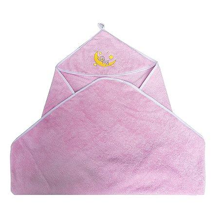 Уголок Cleanelly махровый Розовый
