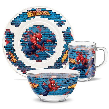 Набор посуды PRIORITY Человек паук 3предмета КРС-932