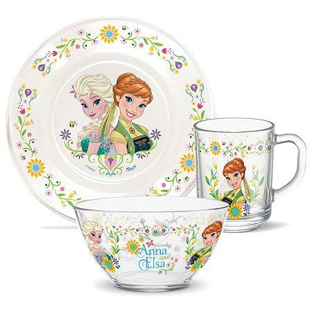 Набор посуды PRIORITY Холодное сердце Весна 3предмета КРС-924