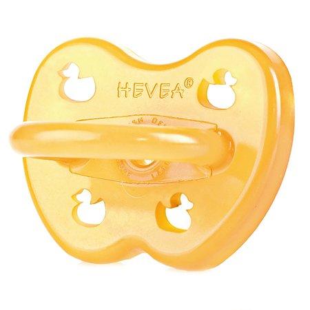 Пустышка Hevea Duck anatomical c 3месяцев 5710087753144