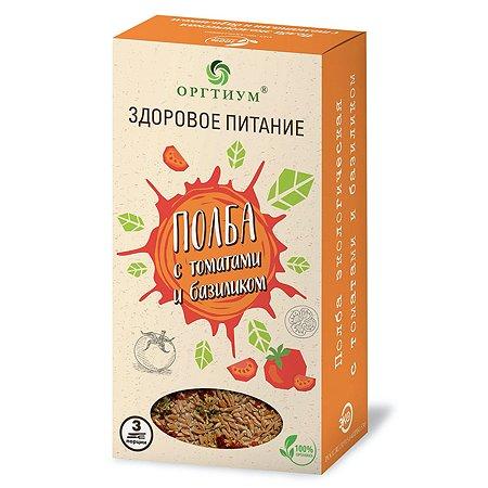 Полба Оргтиум томат-базилик 185г