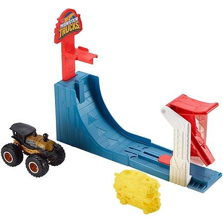 Набор игровой Hot Wheels Monster Trucks Биг Эйр Брейкаут GCG00