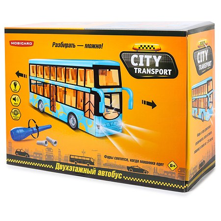 Набор сборный Mobicaro Двухэтажный автобус OTB0571663