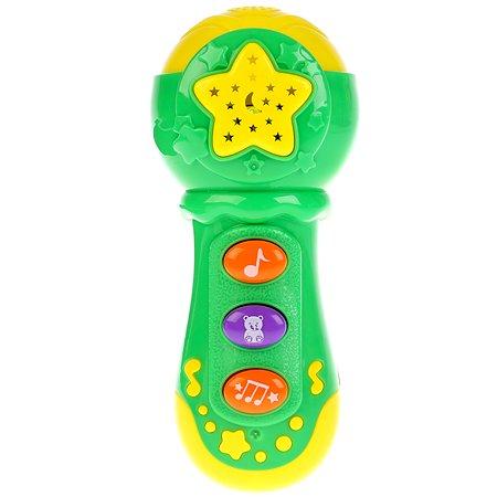 Игрушка УМка Микрофон с проектором 261249