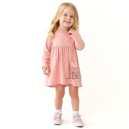 Платье BabyGo светло-розовое