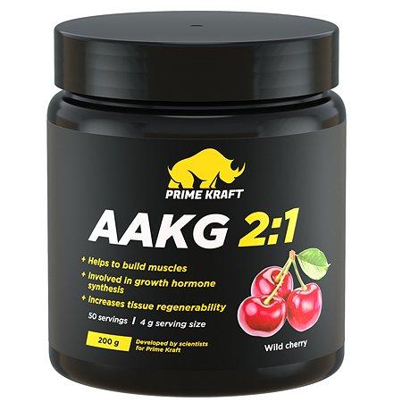 Коктейль Prime Kraft AAKG 2:1 фруктово-ягодный дикая вишня 200г