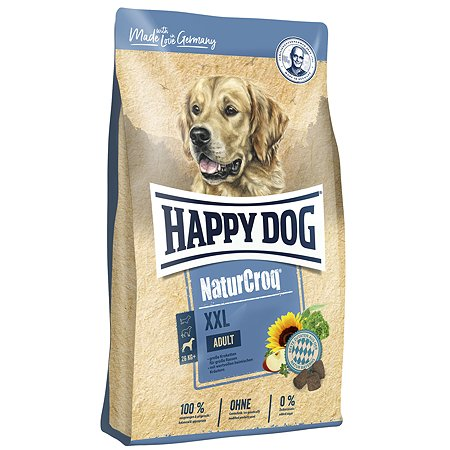 Корм для собак Happy Dog Premium NaturCroq крупных пород XXL 15кг