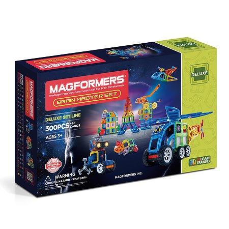 Конструктор магнитный Magformers Brain Master Set 300P