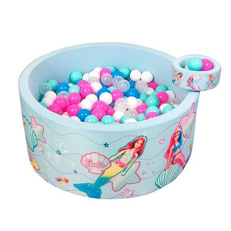 Бассейн Hotenok сухой Barbie Подводная сказка с шариками Sbh412_BB