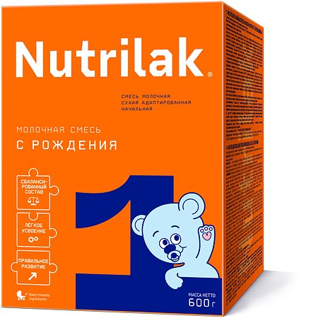 Смесь молочная Nutrilak 1 600г с 0месяцев