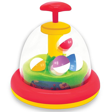 Игрушка развивающая Kiddieland Юла с шариками KID 057604