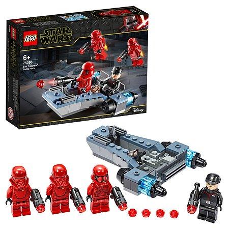 Конструктор LEGO Star Wars Боевой набор Штурмовики ситхов 75266
