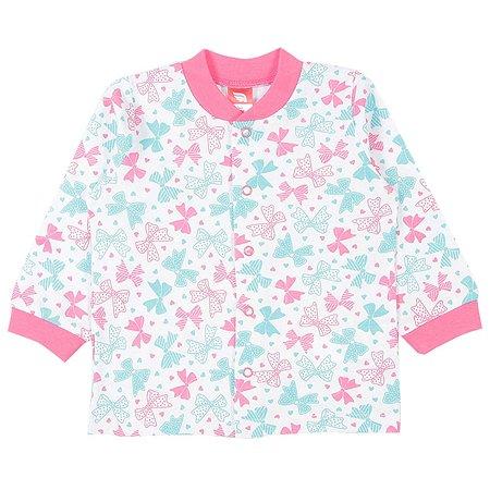 Кофточка Cherubino розовая