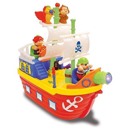 Игрушка развивающая Kiddieland Корабль пиратов KID 380750