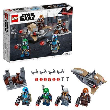 Конструктор LEGO Star Wars Боевой набор Мандалорцы 75267
