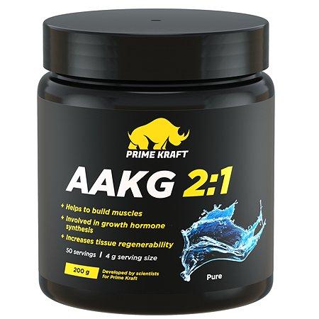 Комплекс аминокислотный Prime Kraft AAKG 2:1 натуральный 200г